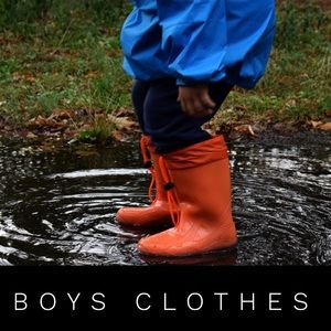 Boys clothes - smoke free home have a cat & dog